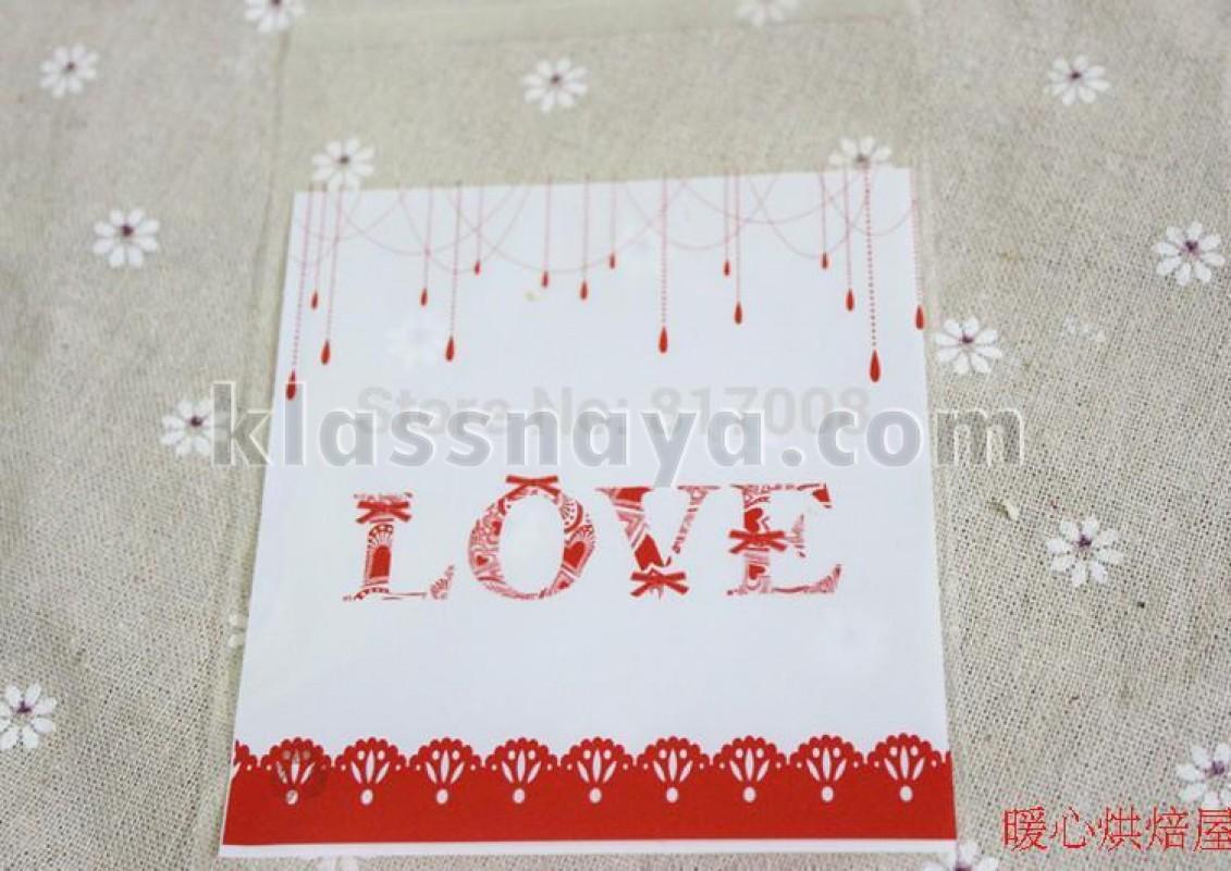 Пакетик «Love»